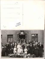 589335,Foto-AK Hochzeit Paar Bräutigam Braut Brautkleid - Hochzeiten