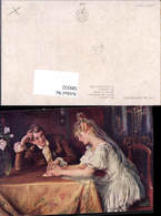 589332,Künstler AK Skramliku Hochzeit Paar Bräutigam Braut Brautkleid - Hochzeiten