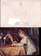 589332,Künstler AK Skramliku Hochzeit Paar Bräutigam Braut Brautkleid - Noces