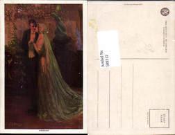 589312,Künstler AK Dewsy Hochzeit Paar Bräutigam Braut Brautkleid Pub Reinthal Newman - Noces
