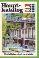 KAT252 Modellbaukatalog HERPA, Modelleisenbahnzubehör 1977 - Littérature & DVD