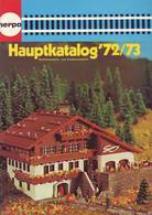 KAT253 Modellbaukatalog HERPA, 1972/73, Deutsch, Neuwertig - Literature & DVD