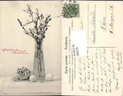 589178,tolle AK Ostern Vase Palmkätzchen - Ostern