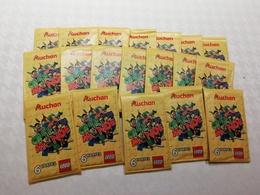 19 SETS 6 CARTES AUCHAN - CREETON MONDE LEGO - Autres Collections