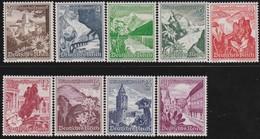 Deutsches Reich  .   Michel .   751/759   .  * . Ungebraucht Mit Gummi Und Falz . / . Mint-hinged - Deutschland