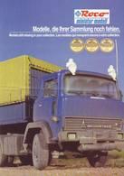 KAT255 Modellkatalog ROCO Miniatur Modell, 1987, Mehrsprachig, Neu - Littérature & DVD