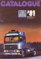 KAT256 Modellkatalog ITALERI 1981, 6-sprachig, Neuwertig - Littérature & DVD