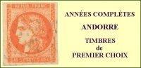 Andorre, Année Complète 1973, N° 226 à N° 233** Y Et T - Años Completos