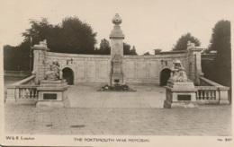 HANTS - PORTSMOUTH - WAR MEMORIAL RP  Ha380 - Portsmouth