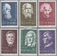 Pologne 1132-1137 (complète.Edition.) Oblitéré 1959 Super Savant - Usati