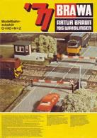 KAT259 Modellbahnkatalog BRAWA 1977, Spur 0, H0, N Und Z, Neuwertig, Deutsch - Littérature & DVD