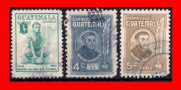 GUATEMALA (AMERICA DEL NORTE) SELLO AÑO 1951-60 - Guatemala