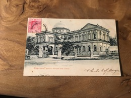 283/ SINGAPORE RAFFELS MUSEUM AND LIBRAY - Singapour