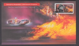 4.- CANADA 2018 FDC Firefighters - Bombero