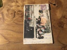 283/ FEMME JAPON CHINE? - Cartes Postales