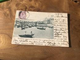 283/ SINGAPORE JOHNSTONS PIER AND COLLYER QUAY - Singapour