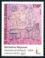 NOUV.-CALEDONIE 2010 - Yv. 1091 **   Faciale= 0,92 EUR - Gravure Sur Bambous 'Femmes Et Enfant'  ..Réf.NCE24546 - Nueva Caledonia