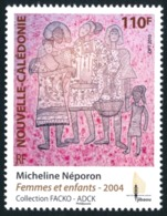 NOUV.-CALEDONIE 2010 - Yv. 1091 **   Faciale= 0,92 EUR - Gravure Sur Bambous 'Femmes Et Enfant'  ..Réf.NCE24546 - New Caledonia