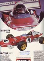 KAT263 Modellbaufolder BARAVELLI Italia, 1971/72, 4-seitig Bedruckter Infofolder - Literature & DVD