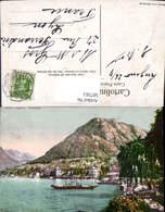 587563,Lugano Paradiso Schiff Boot Lago Di Lugano Switzerland - TI Tessin