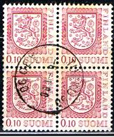 FINLANDIA 205 // YVERT 790X4 // 1979 - Finlandia