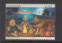 2013 Colombia Navidad Noel Christmas Complete Set Of 1  MNH - Colombie