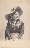 SIENA-COSTUME-CONTADINA SENESE-CARTOLINA NON VIAGGIATA ANNO 1906-1910 - Siena