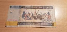 Azerbaijan 1000 Manat 2001 - Azerbaïdjan