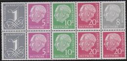 Saar   .   Michel     .   Block  10  Marken   .     **  .    Postfrisch    . / .    MNH - 1957-59 Bundesland