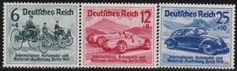 Deutsches Reich   .   Michel     .   686/688    .    (*)    .    Kein Gummi    . / .    No Gum - Deutschland