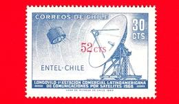Nuovo - CILE - 1971 - Entel - Telecomunicazioni - Antenne Paraboliche - Satelliti - 52 Su 30 - Cile