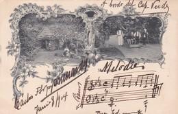 "MADEIRA. VOYAGEE 1904 AU BORD DU ""CAP VERT"". AVEC SIGNATURE ET MELODIE PORTE  - BLEUP - Madeira"