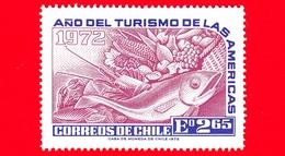 Nuovo - CILE - 1972 - Anno Del Turismo Americano - Frutta - Pesci - Verdure - 2.65 - Cile