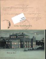 586205,Halt Gegen Licht Lithographie Theater Wien Pub Rüger - Ansichtskarten
