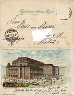 586204,Halt Gegen Licht Lithographie Wien Oper Pub Meteor - Ansichtskarten