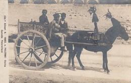 PALERMO-CARRETTO PALERMITANO-CARTOLINA VERA FOTOGRAFIA-VIAGGIATA IL 28-11-1925 - Palermo