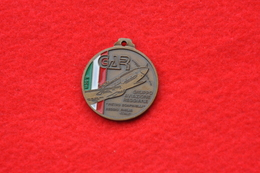 MEDAGLIA   10° RADUNO PILOTI AEREI REGGIANE 1986 PIETRO SCAPINELLI - Aviation