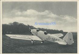 Junkersarbeit - Qualitätsarbeit! - Ganzmetall-Flugzeug Junkers-Junior A 50 - Sammelbild Nr. 40 - 1937 - Guerre 1939-45