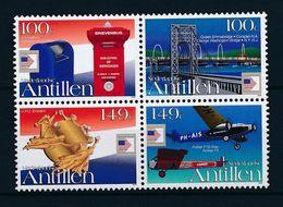 Netherlands Antilles, 2006, Washington 2006 4v [+]  MNH - Antillas Holandesas