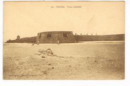 CPA.Afrique. Sahara Poste D'Adrar. Légionnaires. Fortifications (F.155) - Western Sahara