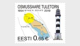 H01 Estonia 2019 Lighthouse  Osmussaare MNH Postfrisch - Estonia