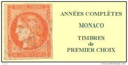 Monaco, Année Complète 1990, N° 1705 à N° 1752** Y Et T - Monaco