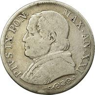 Monnaie, États Italiens, PAPAL STATES, Pius IX, Lira, 1866, Roma, TB, Argent - Vatican