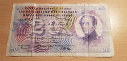 Switzerland 20 Francs 1965 - Schweiz