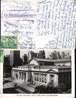 585397,Foto Ak New York Public Library Fifth Ave. Bibliothek New York City - NY - New York