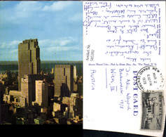 585392,New York Midtown Skyline With Rockefeller Center Buildings New York City - NY - New York