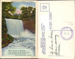 585389,Minnesota Minnehaha Falls Minnehaha Park South Minneapolis Wasserfall - Vereinigte Staaten