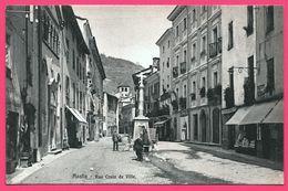 Aosta - Rue Croix De Ville - Animée - Edit. BRUNNER Et Cie - Aosta