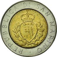 Monnaie, San Marino, 15th Anniversary - Resumption Of Coinage, 500 Lire, 1987 - Saint-Marin