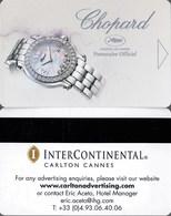 InterContinental  Cannes== Hotel Room Keycard, Room Keys, Hotelkarte, Clef De Hotel - - Cartes D'hotel